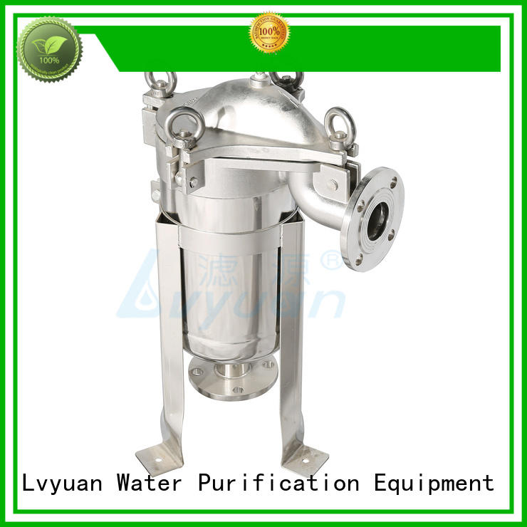 Lvyuan porous stainless steel filter housing manufacturer for food and beverage