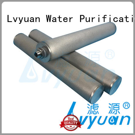 Lvyuan sintered metal filters suppliers rod for food and beverage