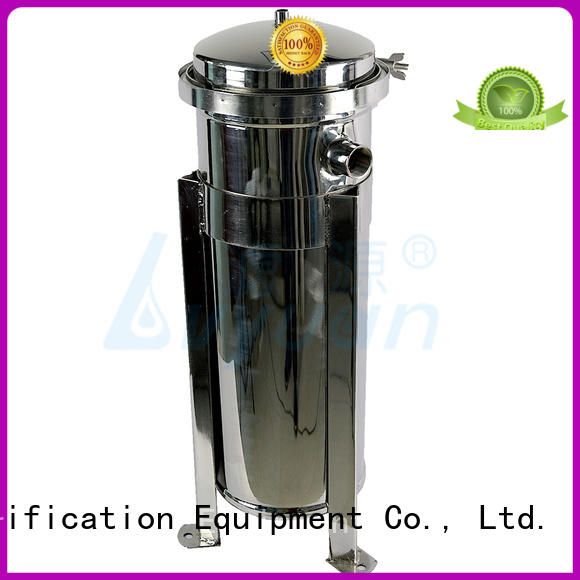 Lvyuan best stainless steel filter housing with fin end cap for sea water treatment