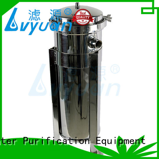 stainless filter housing manufacturer for sea water desalination Lvyuan