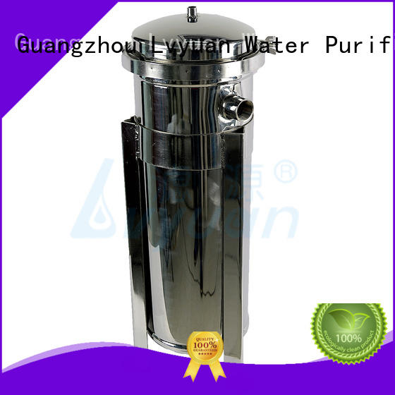 Lvyuan stainless steel cartridge filter housing with core for food and beverage