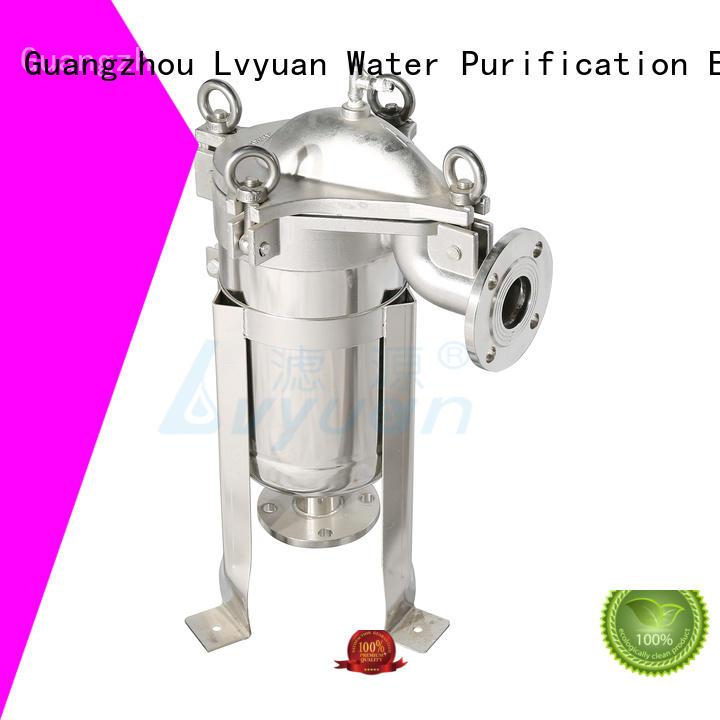 Lvyuan titanium stainless steel cartridge filter housing housing for industry