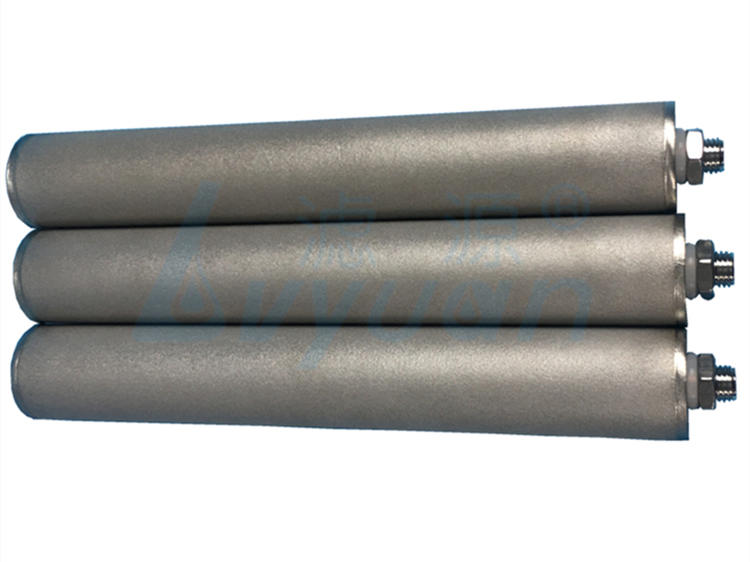 sintered metal filter elements manufacturer for sea water desalination Lvyuan-2