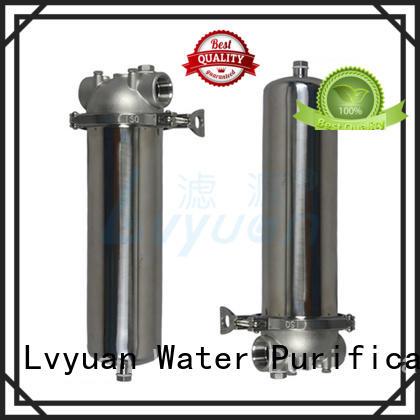 Lvyuan porous ss filter housing manufacturers rod for oil fuel