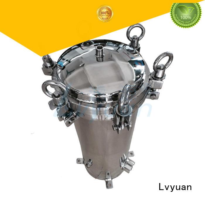 Lvyuan stainless filter housing manufacturer for sea water desalination