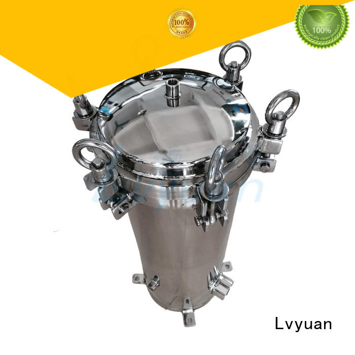Lvyuan stainless filter housing manufacturer for sea water desalination