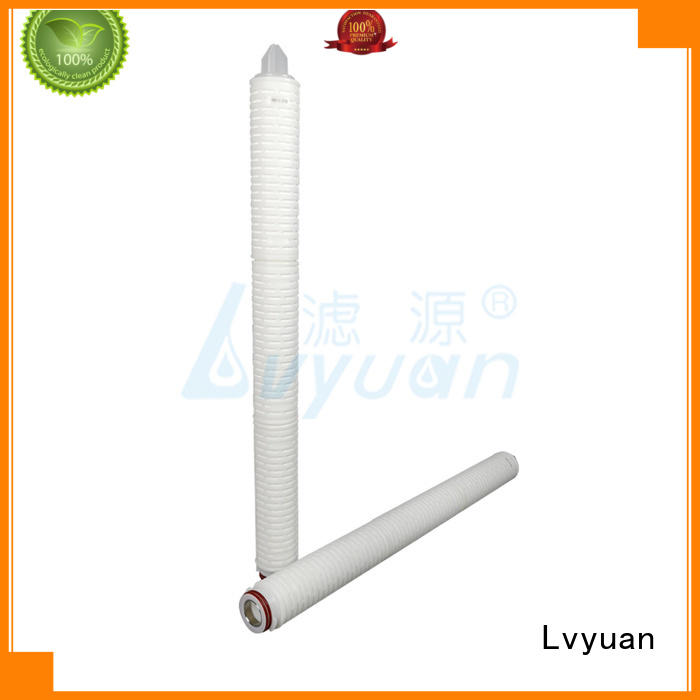 30 inch Nylon N66 membrane pleated water filter cartridge suppliers