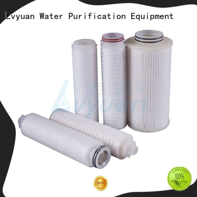 pleated high efficiency pleated filters with for Lvyuan