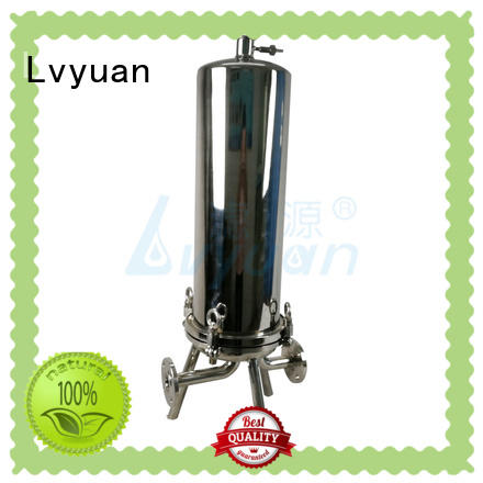 Lvyuan best stainless water filter housing housing for sea water treatment