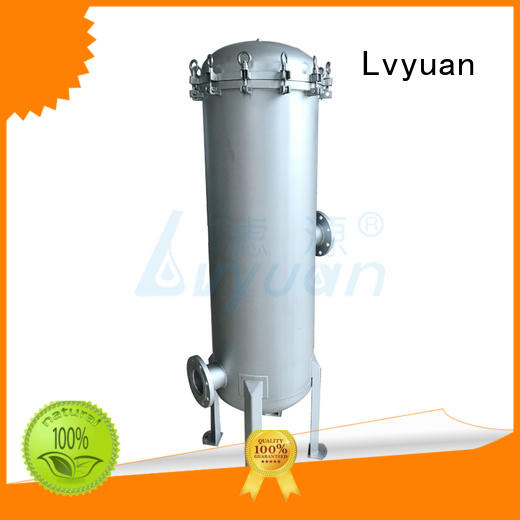 titanium 10 filter housing with core for sea water desalination