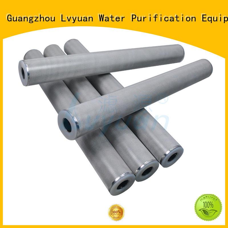 high quality sintered metal filter elements manufacturer for food and beverage Lvyuan