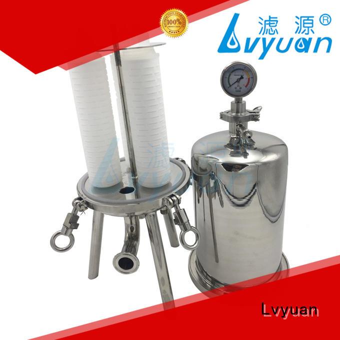 efficient 10 water filter housing high end for oil fuel Lvyuan