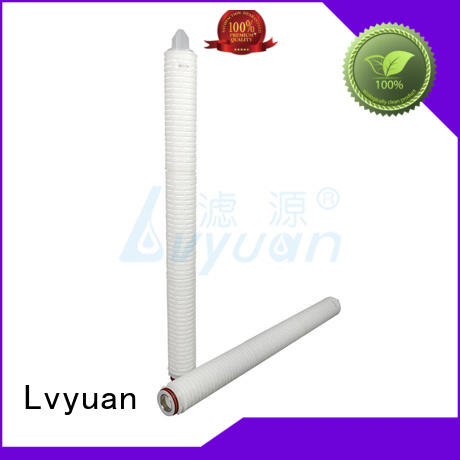Lvyuan pleated filter element supplier for industry