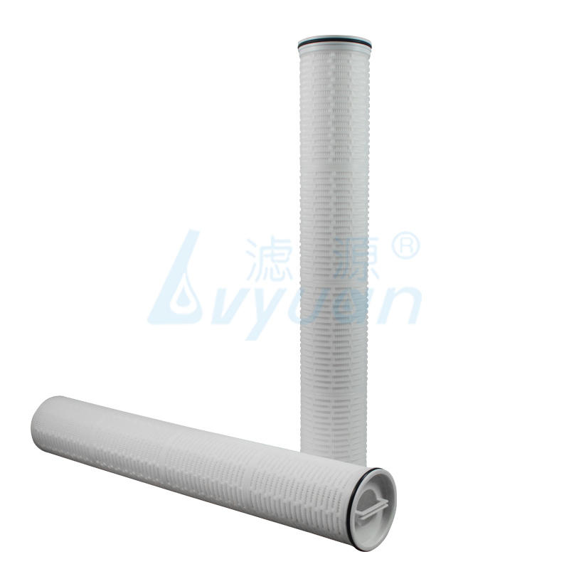 HF Series 5/10 Micron High flow filter Pleated Sediment Cartridge For Water Filter treatment