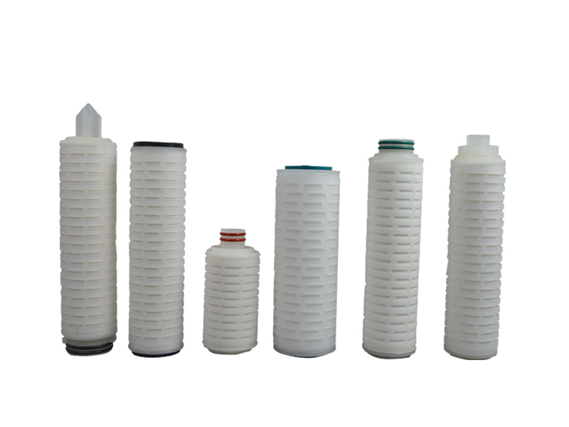 pvdf pleated filter cartridge with stainless steel for sea water desalination-4