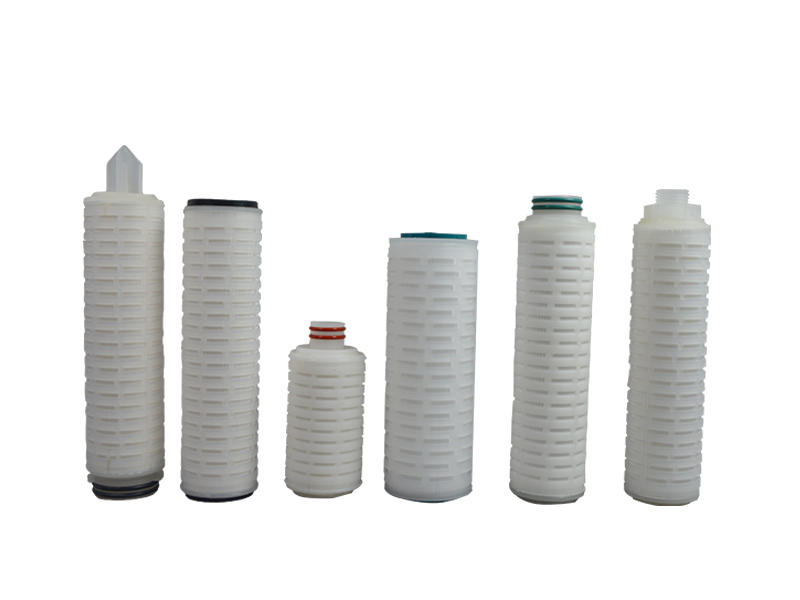 Lvyuan pleated water filters with stainless steel for sea water desalination