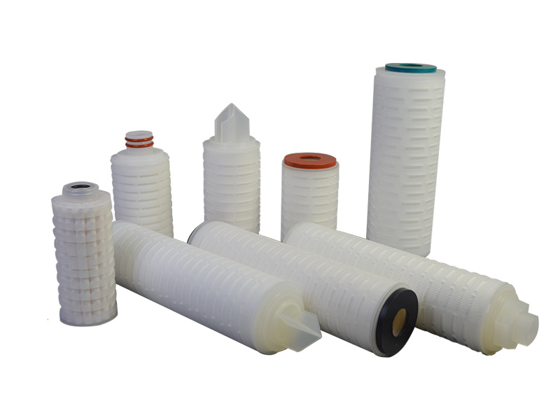 pvdf pleated filter cartridge with stainless steel for sea water desalination-5