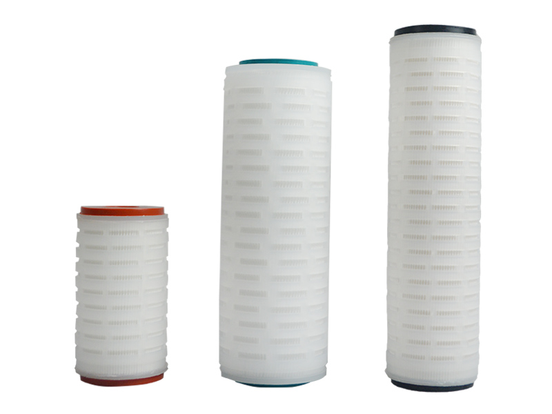 Lvyuan pleated filter with stainless steel for liquids sterile filtration-3