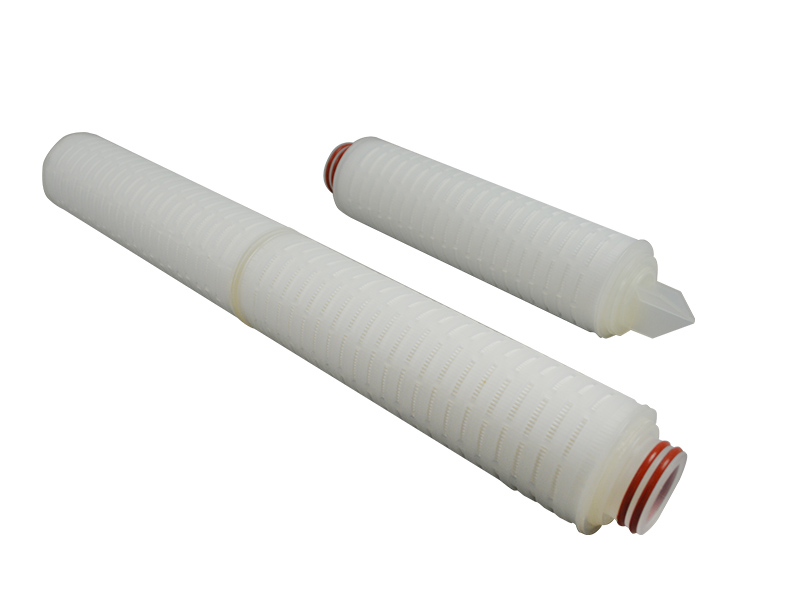 Lvyuan ptfe pleated filter cartridge with stainless steel for liquids sterile filtration-4