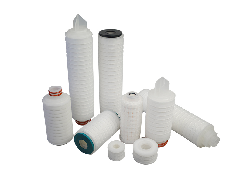 ptfe pleated water filter cartridge replacement for organic solvents-3
