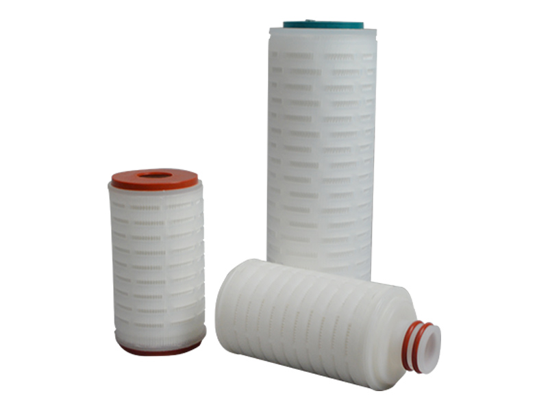 water pleated filter element supplier for liquids sterile filtration-4