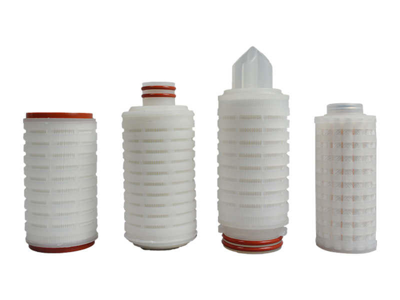 water pleated filter element supplier for liquids sterile filtration-5