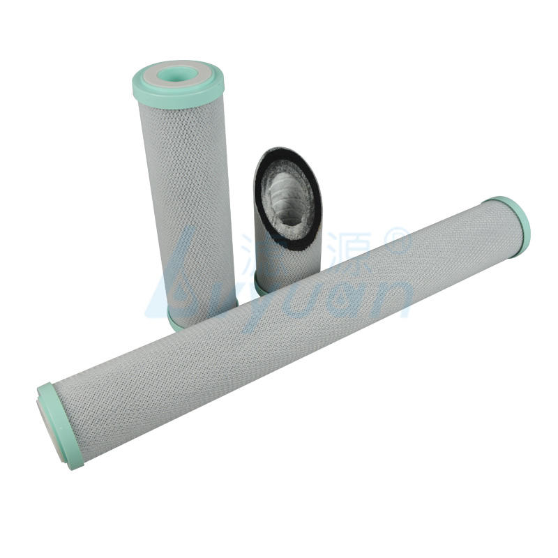 Sintered Activated Carbon Block filter cartridge