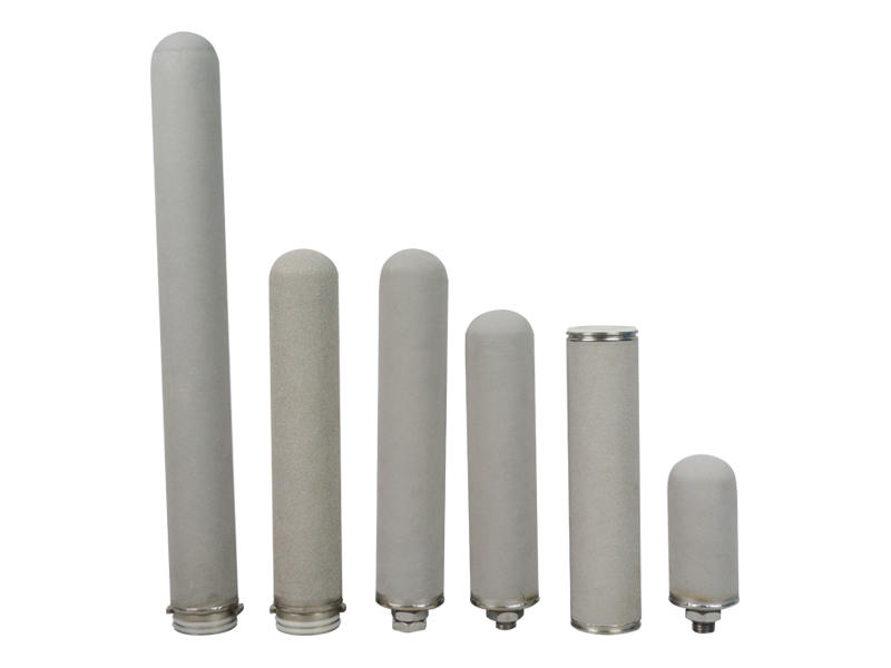 Lvyuan metal ss sintered filter cartridge sintered gas