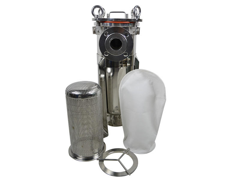 Lvyuan professional ss bag filter housing manufacturer for food and beverage
