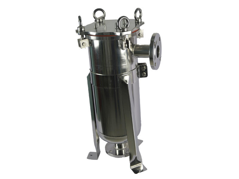 stainless steel filter housing manufacturers with fin end cap for industry Lvyuan