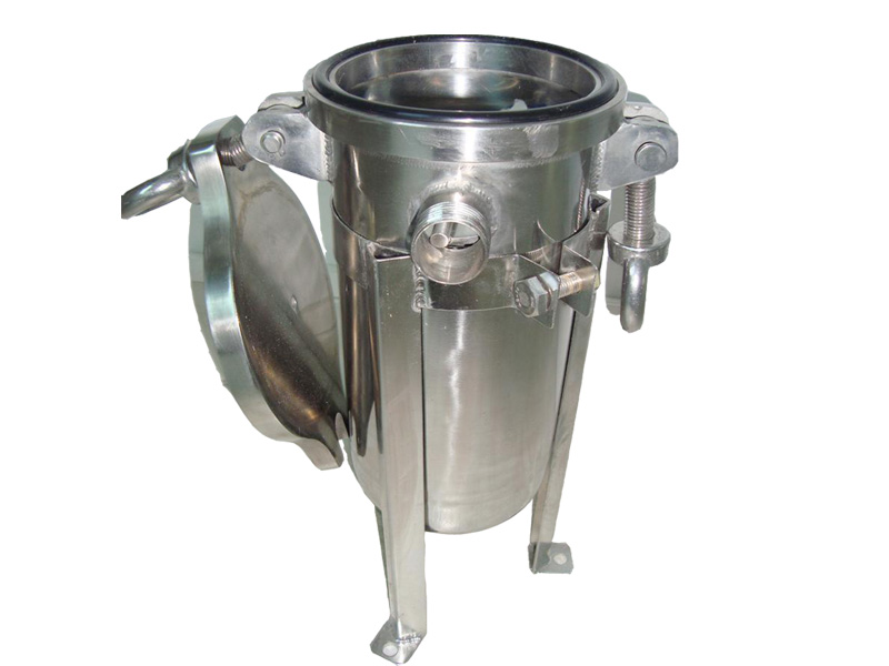 Lvyuan stainless steel filter housing with core for food and beverage-3