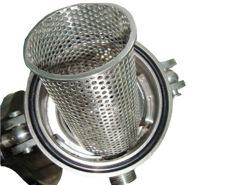 Lvyuan stainless steel filter housing with core for food and beverage-4