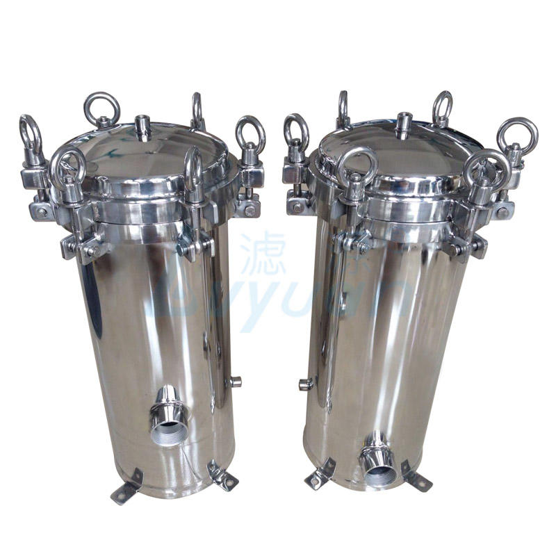 water filter housing stainless steel ss316 material cartridge housings manufacturer