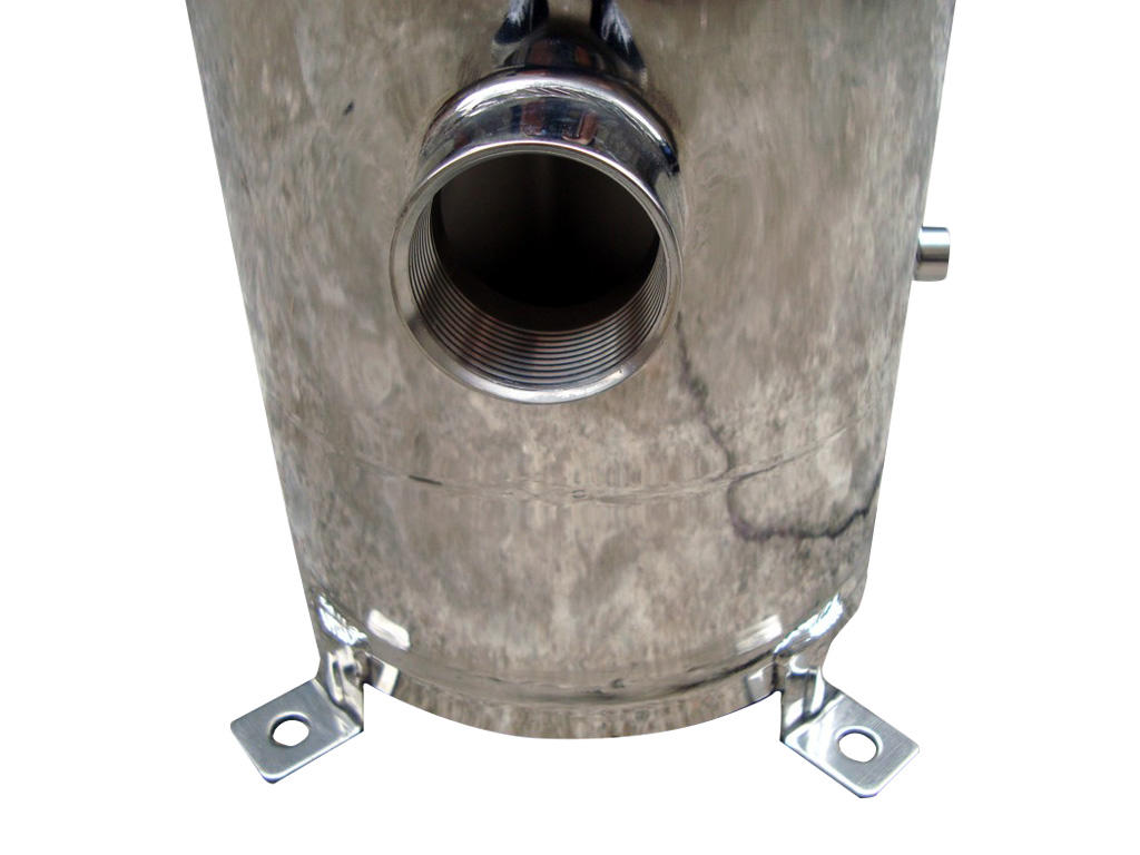 Lvyuan stainless steel filter housing manufacturers with fin end cap for oil fuel