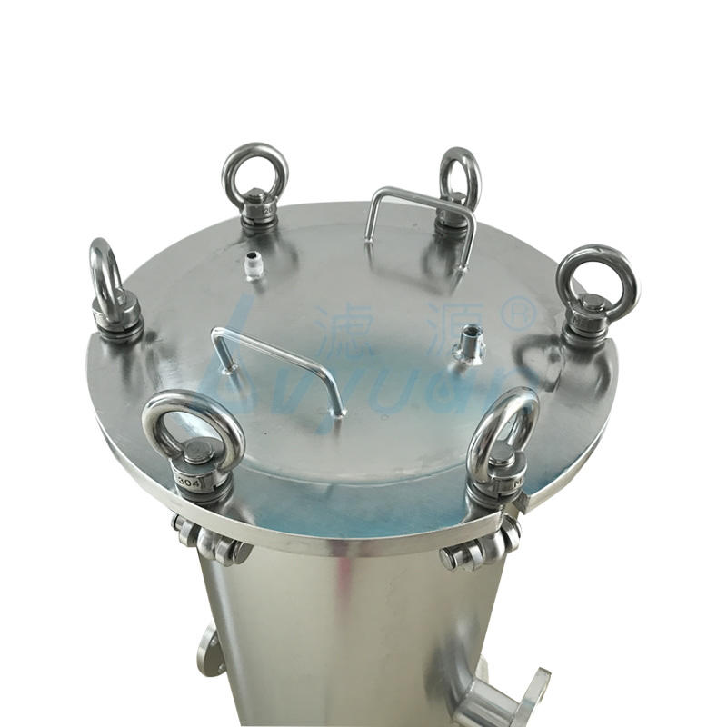 20 inch stainless steel cartridage filter housing ss304 material