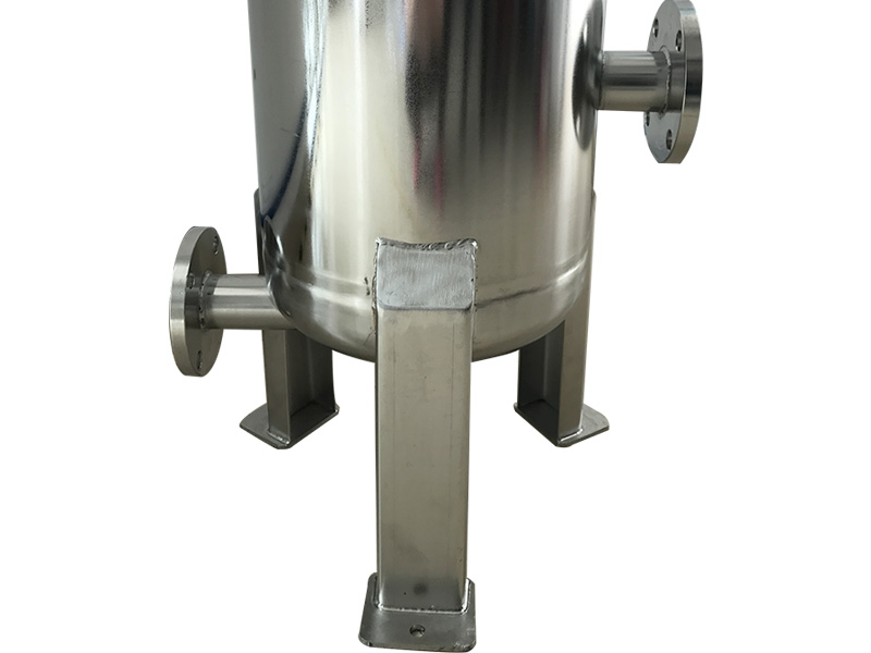 efficient stainless steel bag filter housing with core for sea water treatment-4