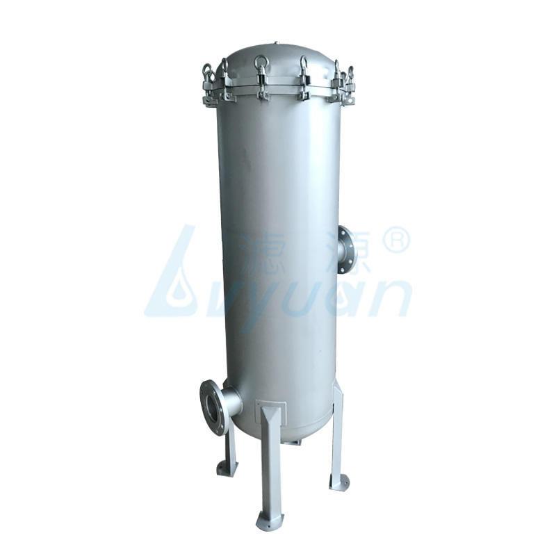 40 inch stainless steel water filter housing surface with Matt treatment