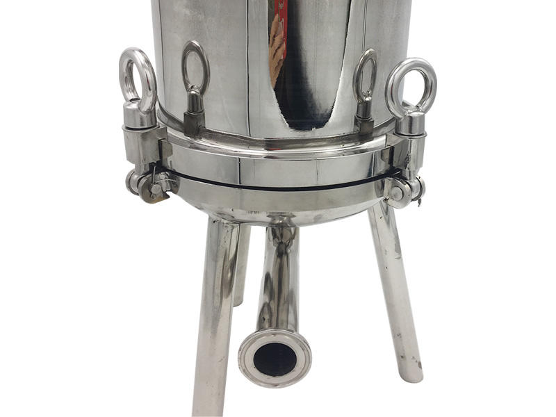 Lvyuan titanium stainless water filter housing with fin end cap for sea water treatment-3