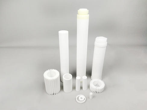 How we make your sintered porous plastic filters?