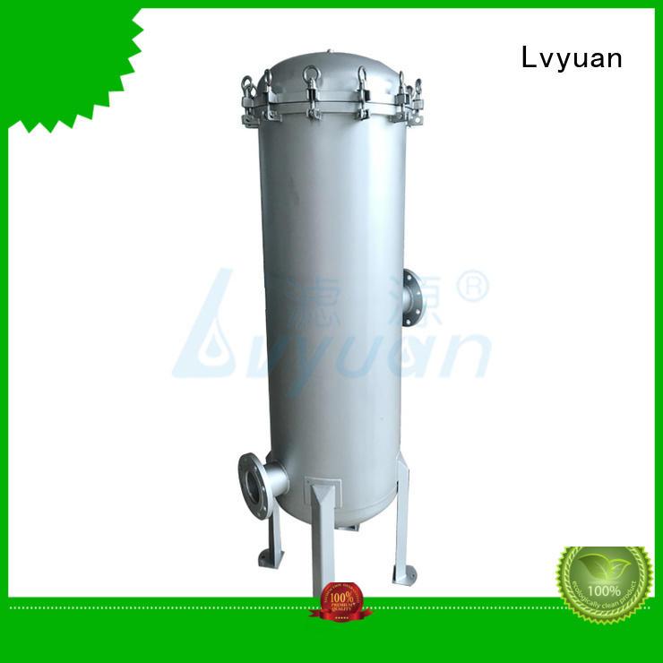 Lvyuan high end stainless steel filter housing manufacturer for sea water desalination