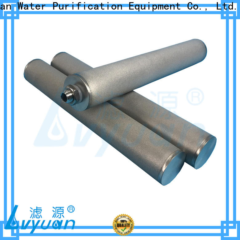 Lvyuan sintered stainless steel filter rod for food and beverage