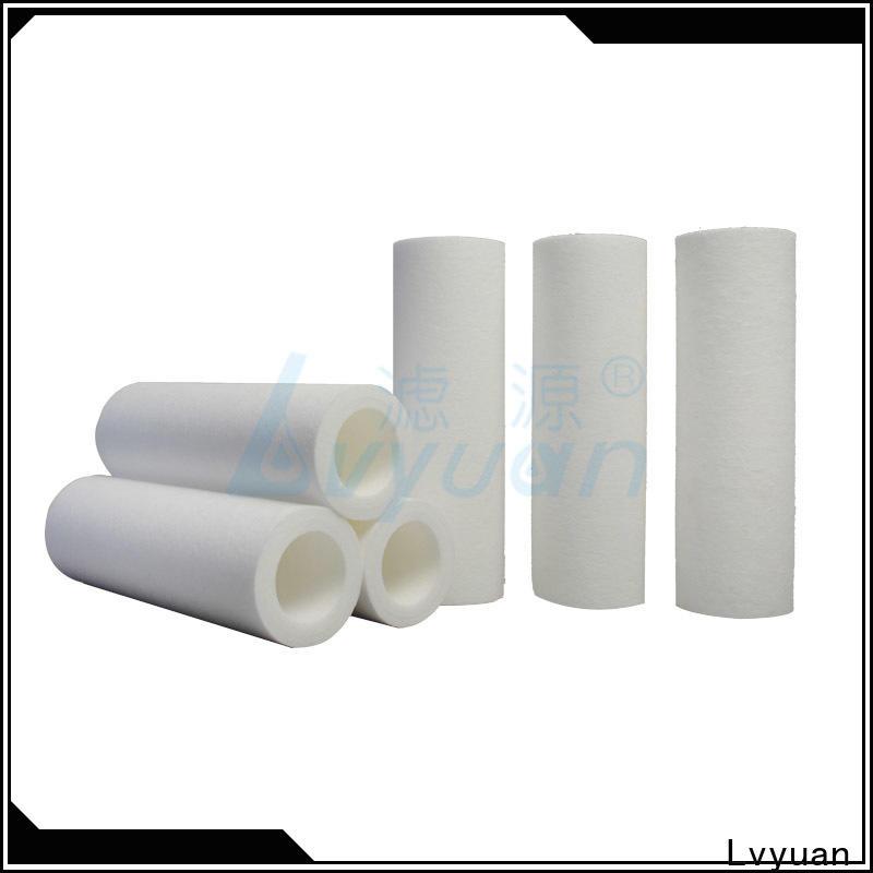 polypropylene melt blown filter supplier for sea water desalination