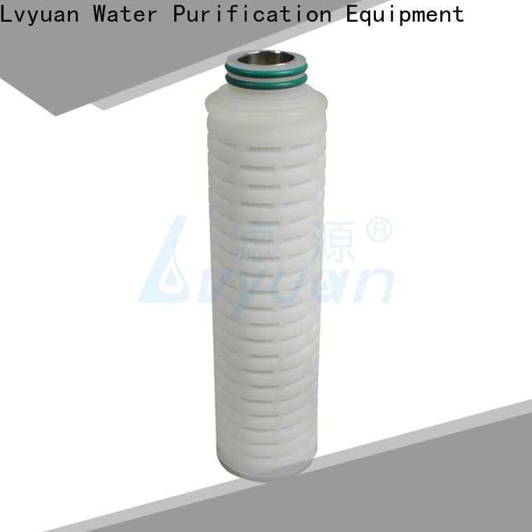 Lvyuan filter cartridge manufacturer for sea water desalination