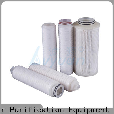 Lvyuan pleated filter with stainless steel for organic solvents