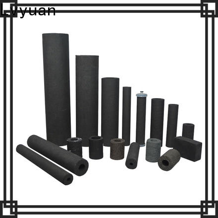activated carbon sintered metal filter supplier for food and beverage