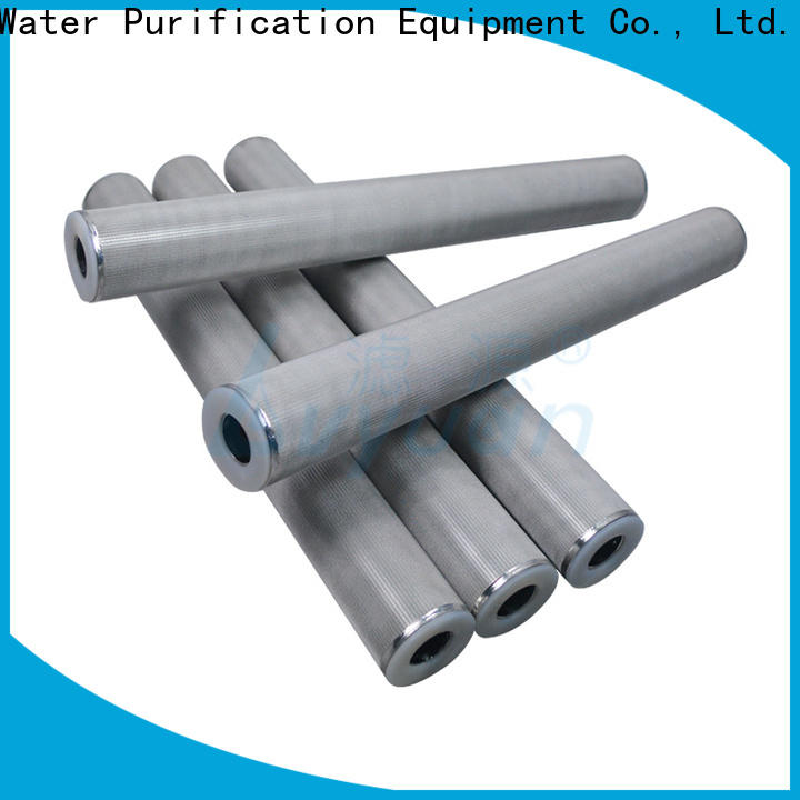 Lvyuan sintered stainless steel filter manufacturer for sea water desalination