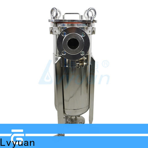Lvyuan titanium stainless steel water filter housing with core for food and beverage