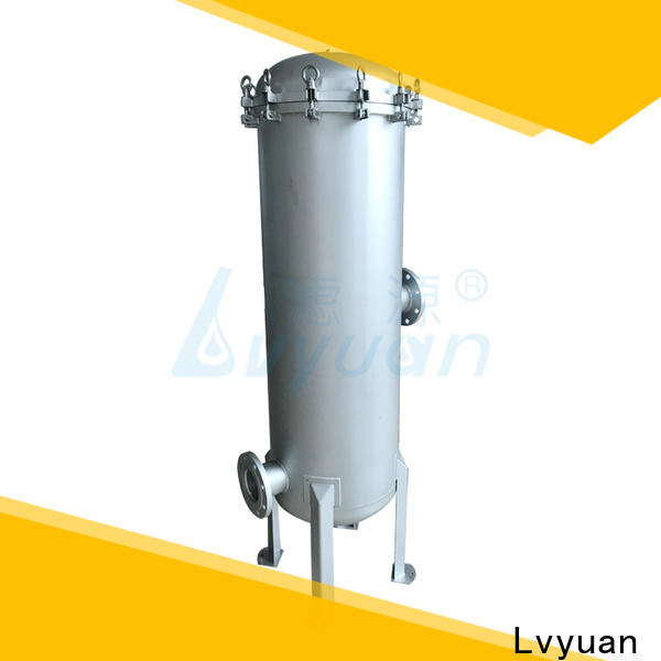 Lvyuan titanium stainless steel filter housing manufacturers rod for sea water treatment