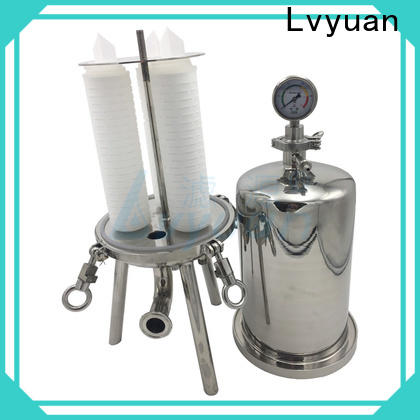 Lvyuan best ss bag filter housing housing for industry