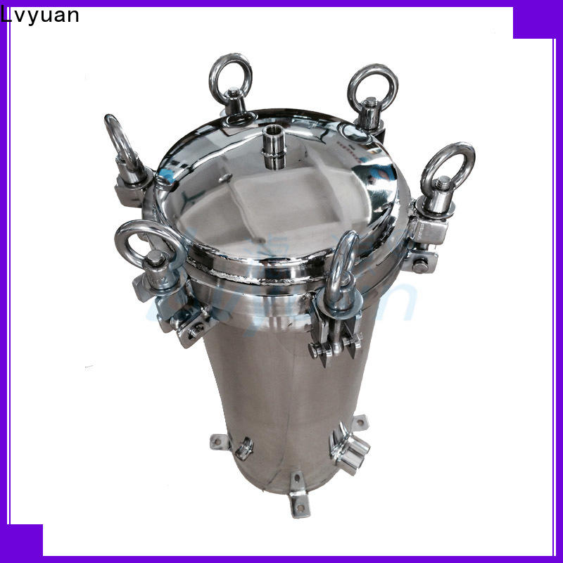 Lvyuan stainless filter housing housing for oil fuel